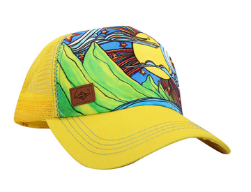 SACRED Surf Trucker - Makana - Yellow