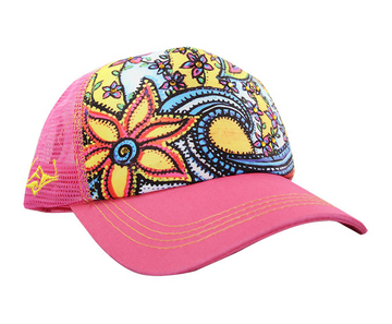 SACRED Surf Trucker - Waveflower - Fuschia