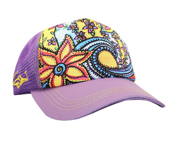 SACRED Surf Trucker - Waveflower - Lilac