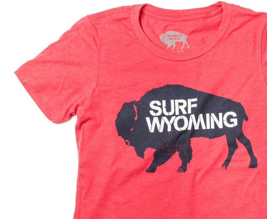 Women's Surf Wyoming® Bison - Campfire Red/Navy/White