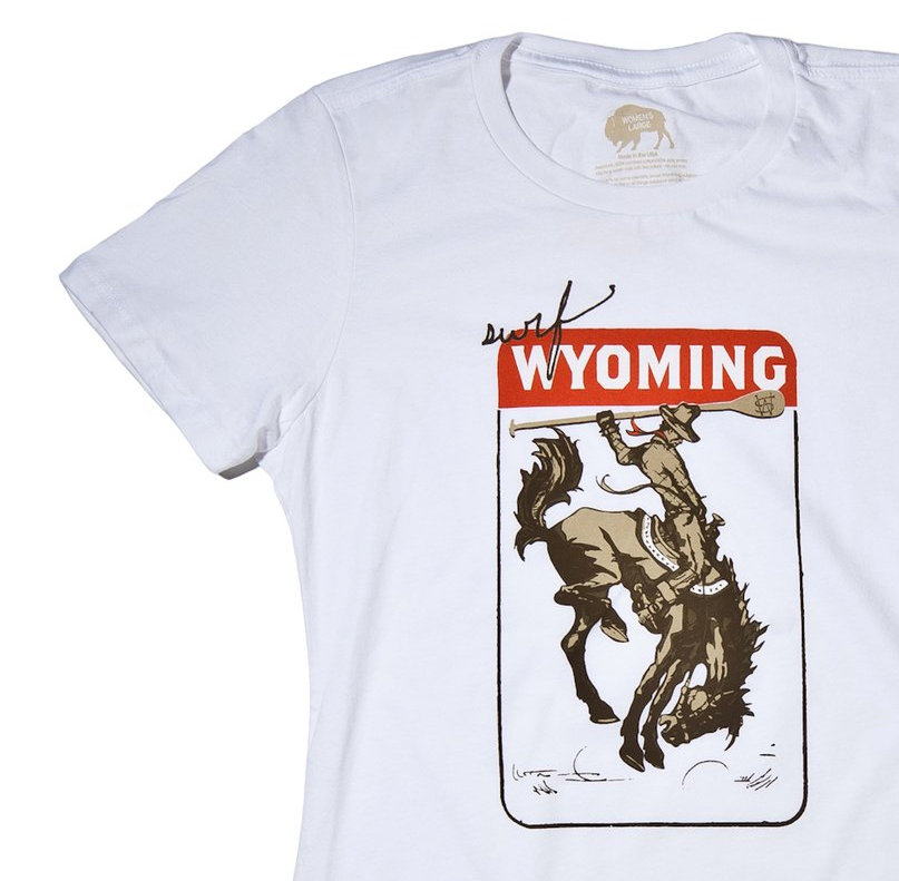 Women's Surf Wyoming® Vintage Paddle Bronc - White