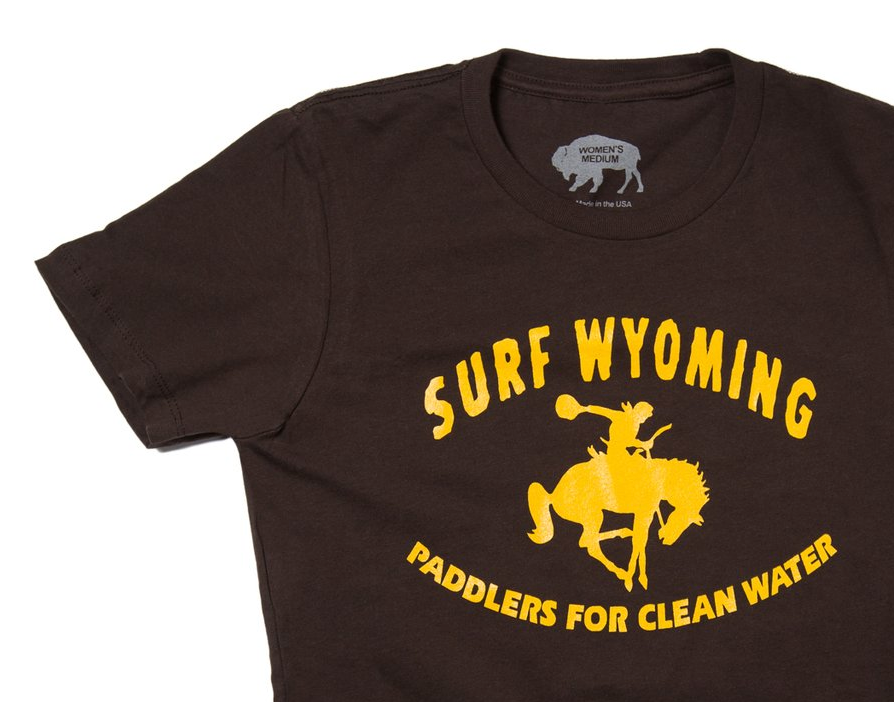 Women's Surf Wyoming® Throwback Paddler - Brown/Gold