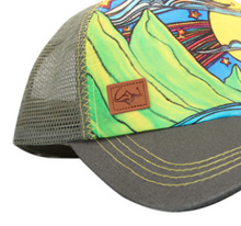 Load image into Gallery viewer, SACRED Surf Trucker - Makana - Olive