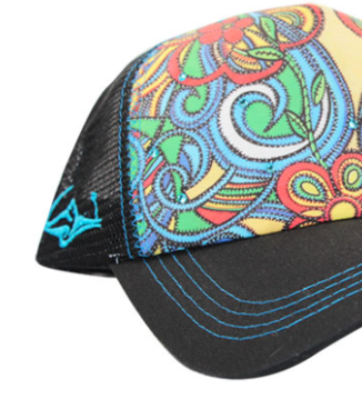 SACRED Surf Trucker - Aloha Bus - Black
