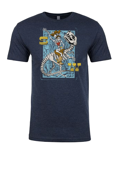 Surf Wyoming® Youth Wild Bill Tee - Dark Navy