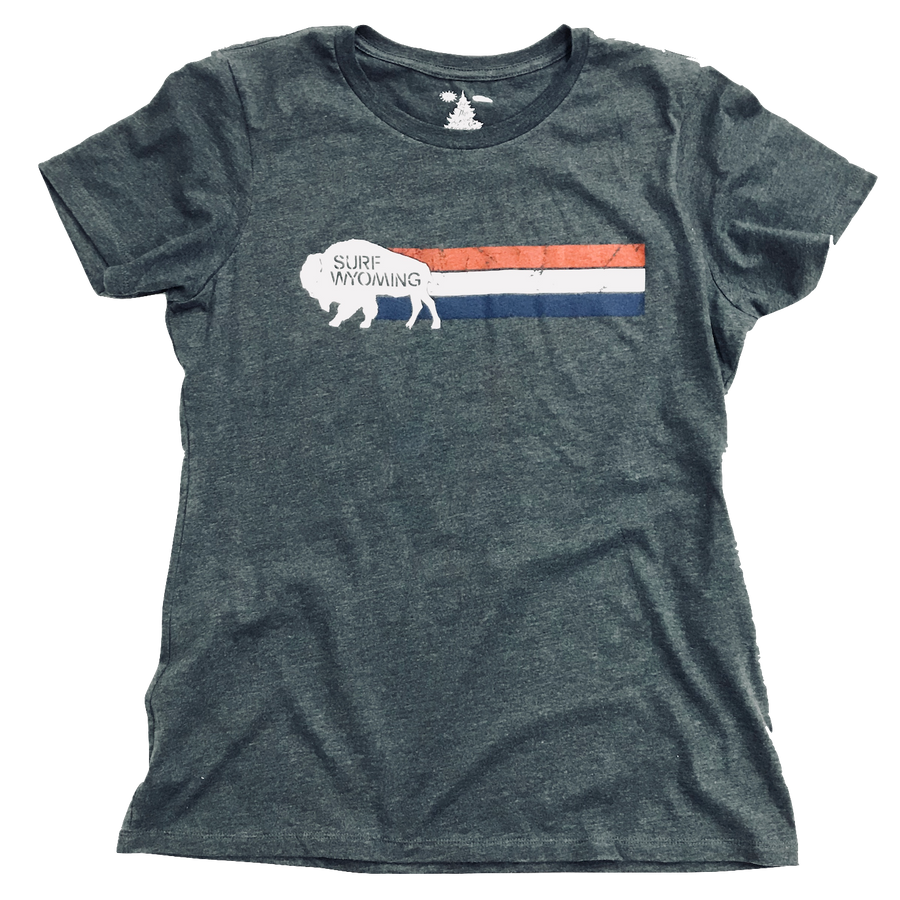 Women's Surf Wyoming® Vintage Wyomerica - Charcoal