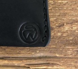 Surf Wyoming Bi-Fold Wallet - Black