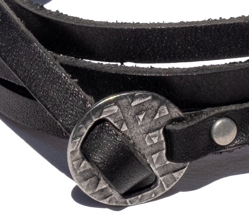 SURF WYOMING MULTI-WRAP BRACELET - BLACK