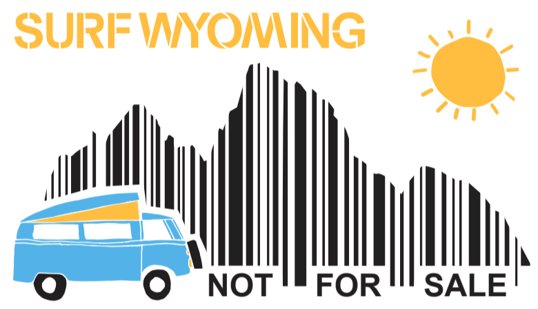 Surf Wyoming®  NFS Sticker