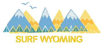 Surf Wyoming® Rangin' Sticker