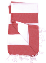 Load image into Gallery viewer, BIARRITZ THROW • SURF WYOMING x THE RIVIERA TOWEL COMPANY • 5 COLOR OPTIONS