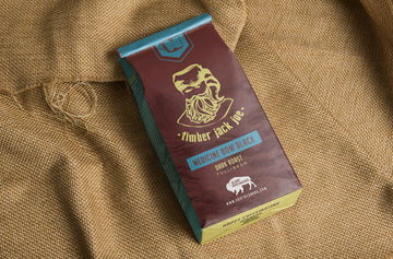 TIMBER JACK JOE COFFEE - MEDICINE BOW BLACK *WHOLE BEAN* - Dark roast