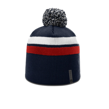 TOBAGGAN BEANIE •  red/white/blue