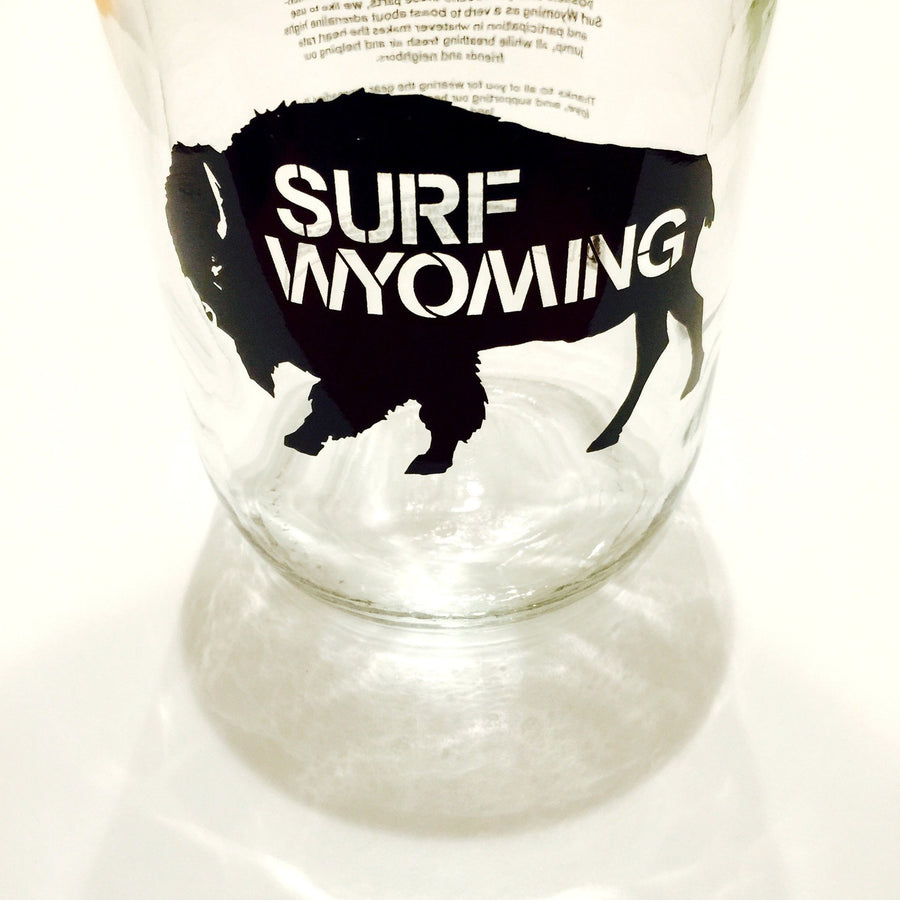 Surf Wyoming Growler - Clear