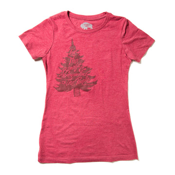 Women's Surf Wyoming® For The Benefit of the People Tee - Red