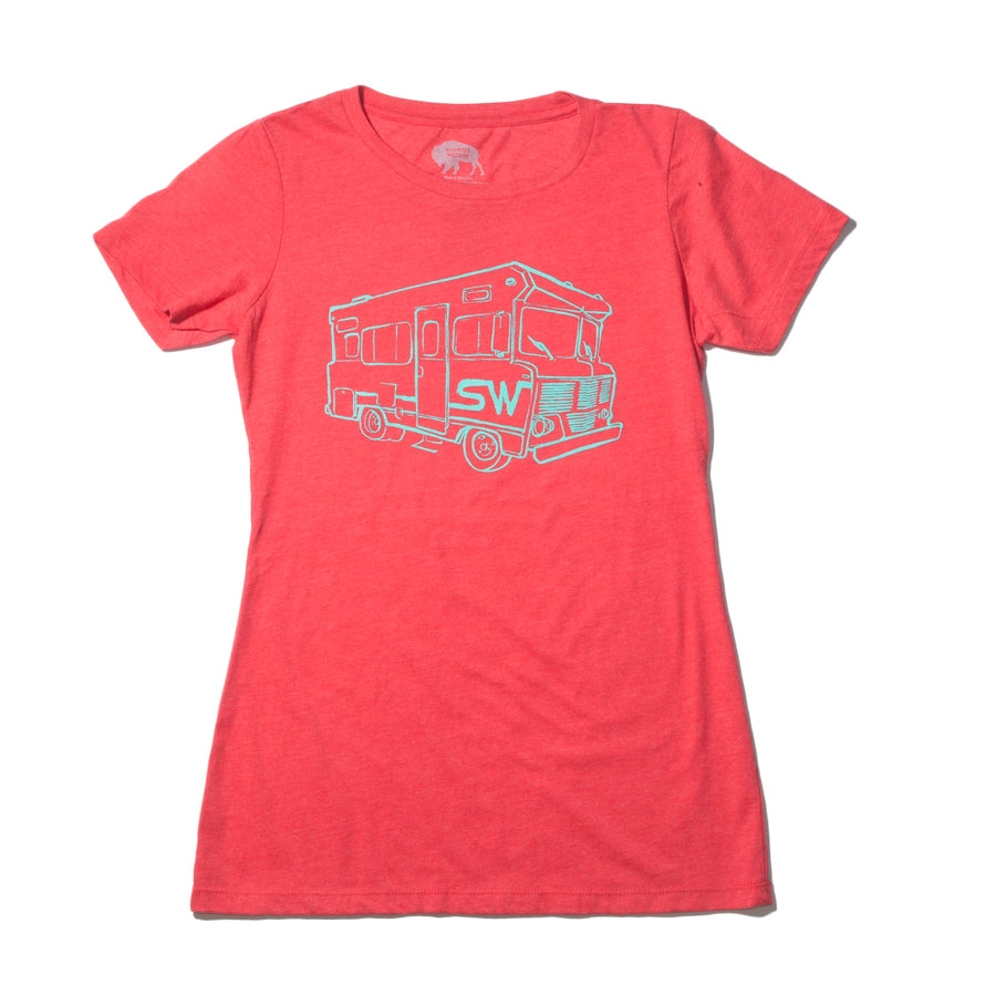 Women's Surf Wyoming® SW WY.innie - Red