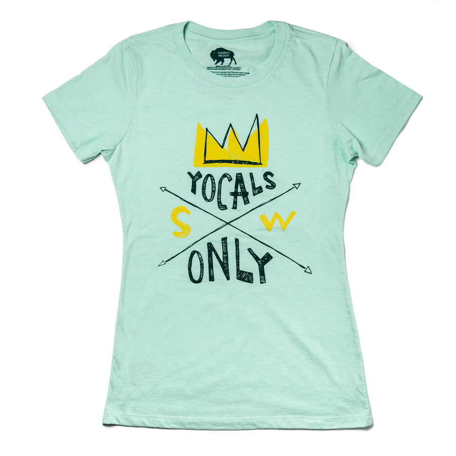 Women's Surf Wyoming®  YOCALS Only Tee - Mint