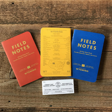 Wyoming County Fair - Field Notes - 3-Pak
