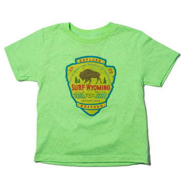 Youth Surf Wyoming YNP Tee