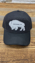 Load and play video in Gallery viewer, Tradesman Bison Cap - Black Denim/Suede