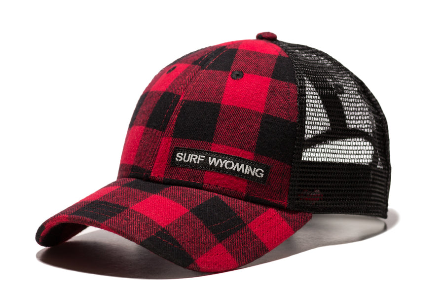 The Fudd Basics - Red + Black Buffalo Plaid
