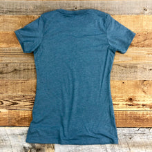 Load image into Gallery viewer, Women's Surf Wyoming® Bison Tee - Indigo