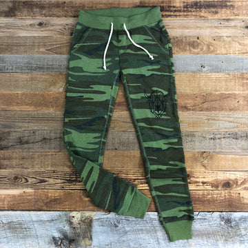 Women's Surf Wyoming® Digi Bison Jogger - Camo