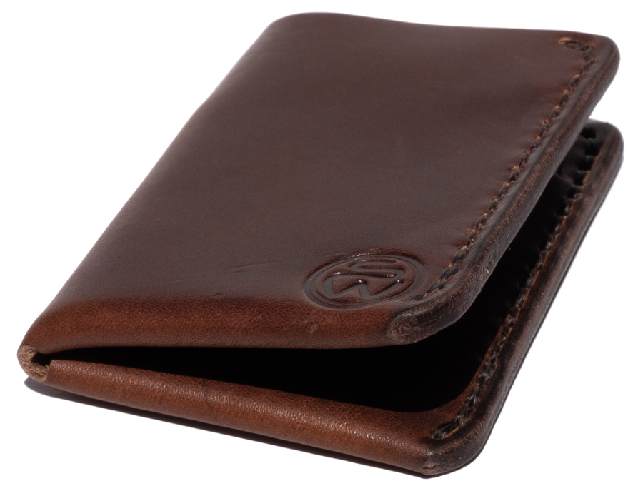 Surf Wyoming Bi-Fold Wallet - Nut Brown
