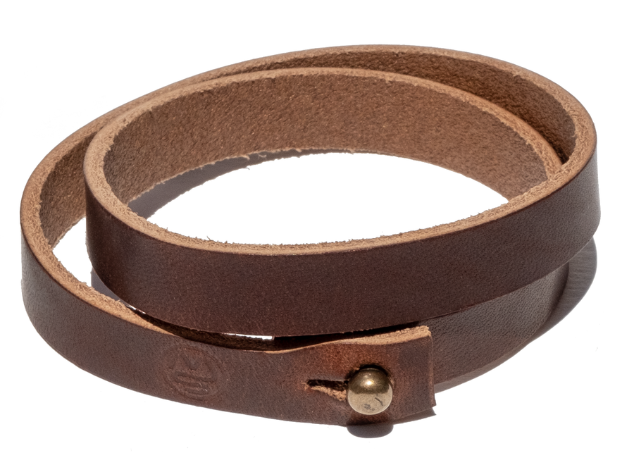 SURF WYOMING TETON BRACELET - NUT BROWN