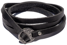 Load image into Gallery viewer, Surf Wyoming-SURF WYOMING MULTI-WRAP BRACELET - BLACK-