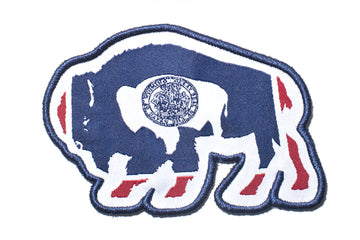 Flag Bison Merit Patch