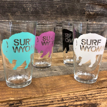 Surf Wyoming® Big Bison Pint Set