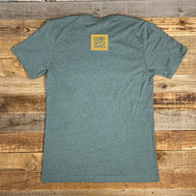 Load image into Gallery viewer, Men's Yellowstone Sloth Tee - Heather Military
