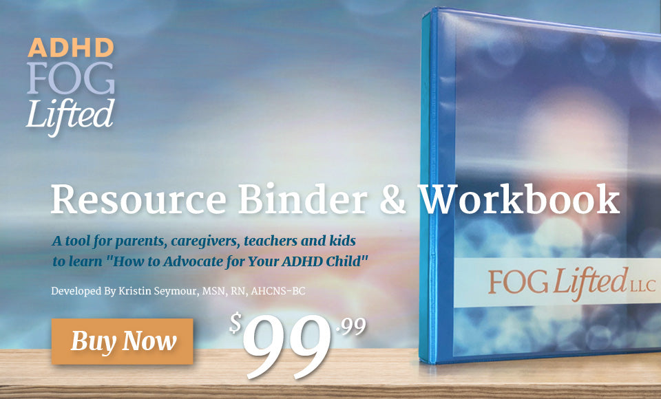 ADHD Fog Lifted Binder & Workbook - Hero Banner