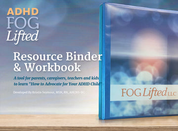 ADHD Resource Binder and Workbook