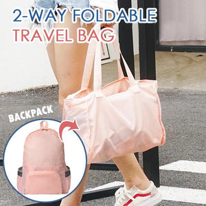 2 Ways Fold-able Travel Bag