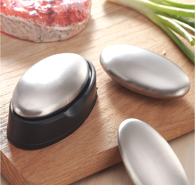 Stainless steel soap (can remove all odor)