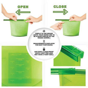 Hot Selling 50,000 PACKS (Factory Outlet) Reusable Silicone Multifunctional Bag