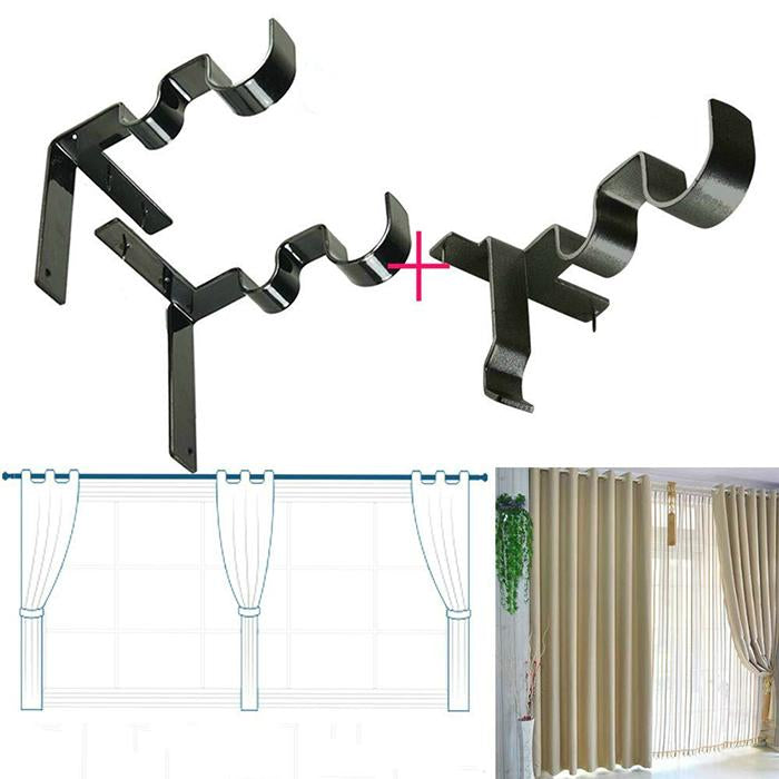 50% OFF Today! Curtain Rod Hanging Bracket