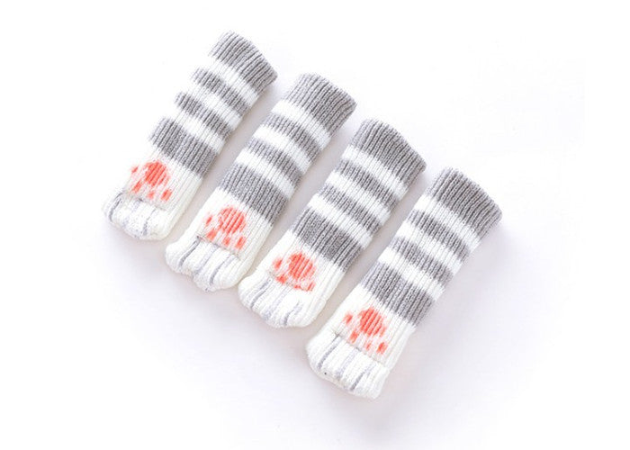 Japanese Family Essential Cat Claw Table And Chair Socks (4 PC)