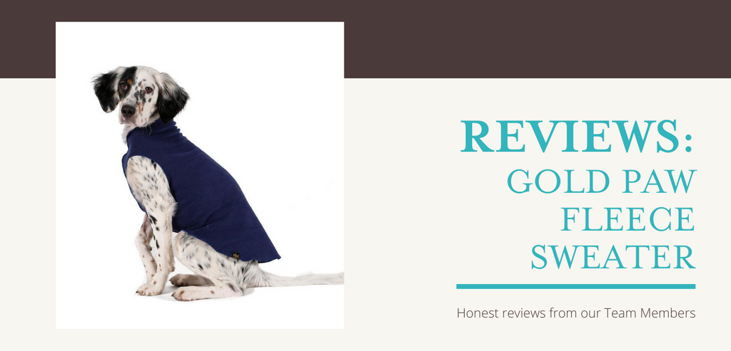 Reviews: Gold Paw Fleece Lightweight Sweaters