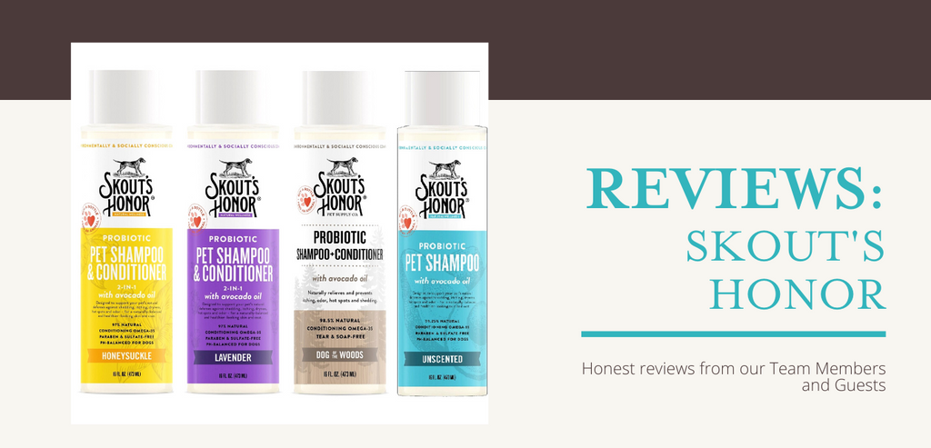 Reviews: Skout's Honor Probiotic Shampoos and Conditioners