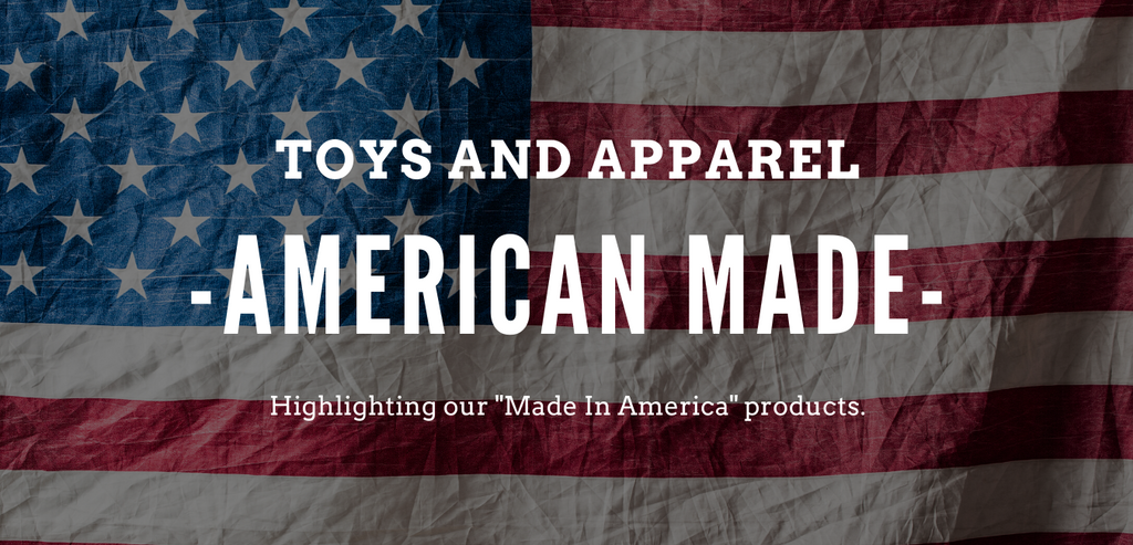 American Made: Toys and Apparel