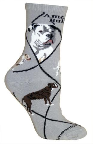American Bulldog Socks