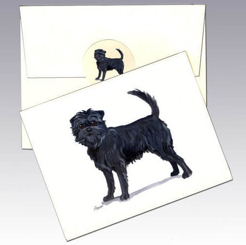 Affenpinscher 8 Pack Notecards