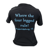 Where the four legged rule V-neck Shirts