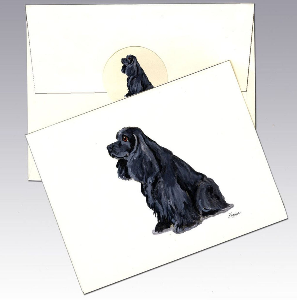 American Cocker Spaniel 8 Pack Notecards