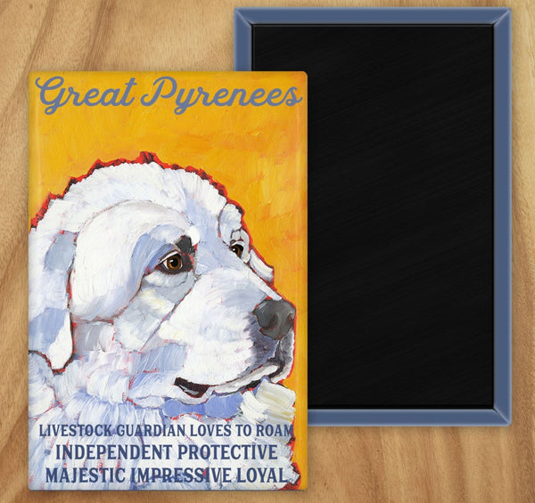 Great Pyrenees 2 x 3 Fridge Magnet