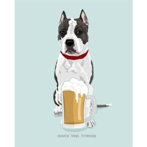 American Staffordshire Terrier Best Friends Prints