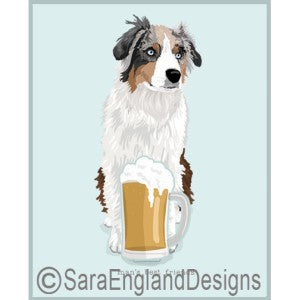 Australian Shepherd Best Friends Prints